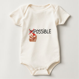Nothing is Impossible Baby Bodysuit