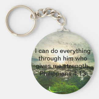 Nothing is impossible keychain