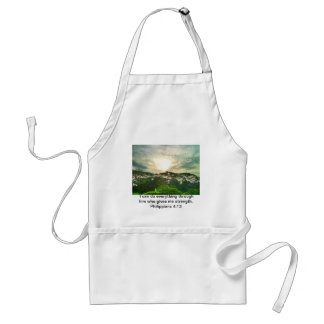 Nothing is impossible standard apron
