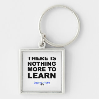 Nothing more to learn key chains