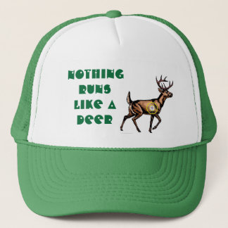 Nothing runs like a deer trucker hat