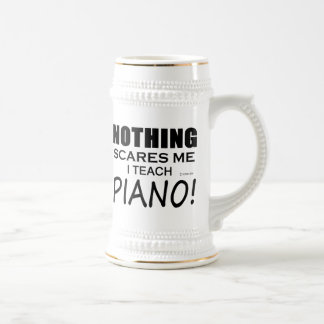 Nothing Scares Me Piano Beer Stein