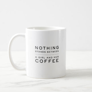"""Nothing Stands Between..."" - Classic White Mug"