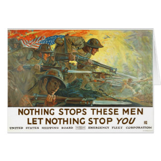 Nothing stops card
