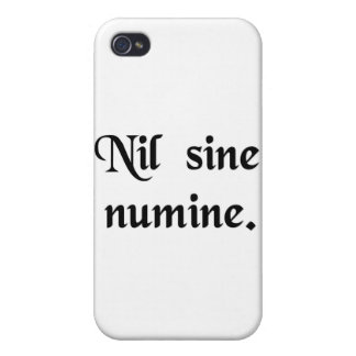 Nothing without the Divine Will iPhone 4/4S Cover