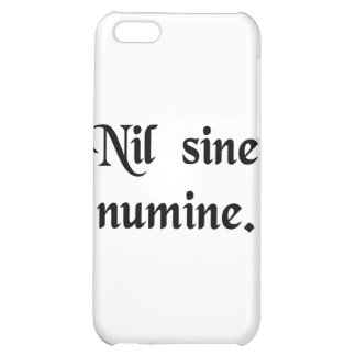 Nothing without the Divine Will Cover For iPhone 5C