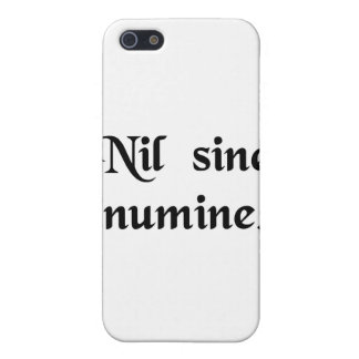 Nothing without the Divine Will. iPhone 5 Covers