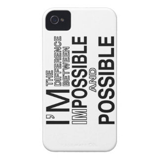 Nothings Impossible iPhone 4 Covers