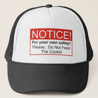 Notice / Cook Trucker Hat