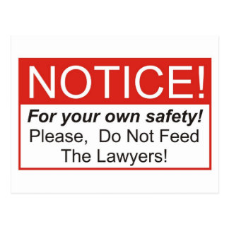Notice / Lawyer Postcard