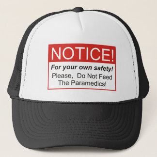 Notice / Paramedic Trucker Hat