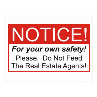 Notice / Real Estate Agent Postcard