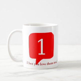 Notifications, I bet you love them too! Coffee Mug