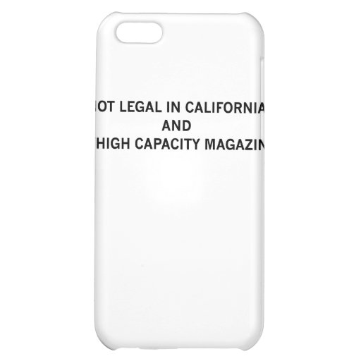 NotLegalInCali Case For iPhone 5C