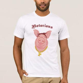 Notorious P.I.G. Piggie Smalls light Tee Shirt