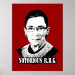Notorious R.B.G. - Ruth Bader Ginsburg Poster