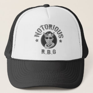 Notorious RBG III -bw Trucker Hat