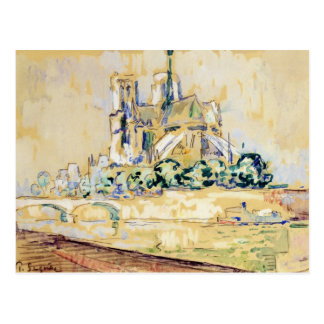 Notre Dame, 1885 Postcard