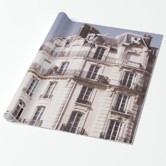 Notre Dame and Parisian Architecture Wrapping Paper
