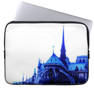 Notre Dame Blue Laptop Computer Sleeve