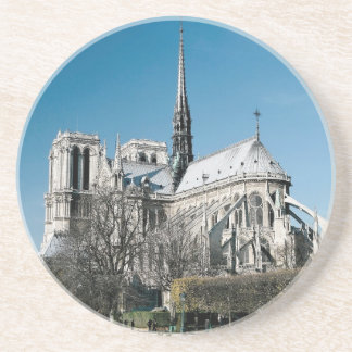 Notre Dame Cathedral Beverage Coasters