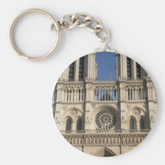 Notre Dame Cathedral in Paris Keychain