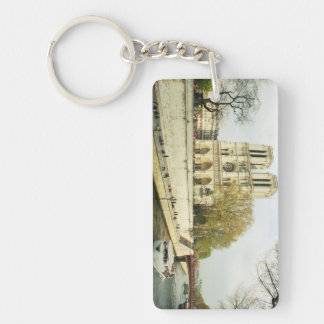 Notre Dame cathedral Keychain
