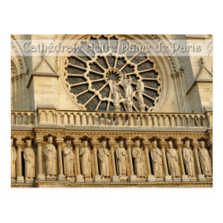 Notre-Dame Cathedral -Paris, postcard