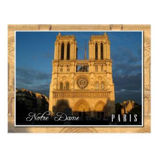 Notre Dame Cathedral (western facade), Paris Postcard