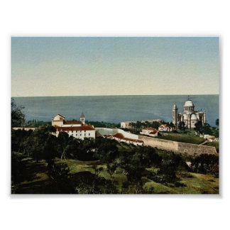 Notre Dame d' Afrique and Carmelite convent, Algie Poster