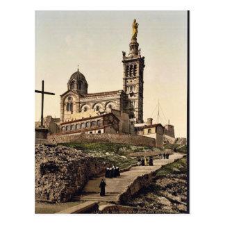 Notre Dame de la Garde I, Marseilles, France class Postcard