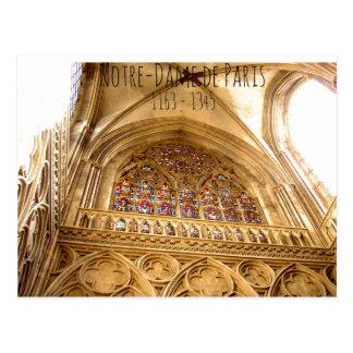 Notre-Dame de Paris 1163-1345 Postcard