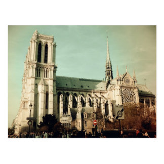 Notre Dame de Paris (France) Postcard