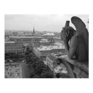 Notre Dame Gargoyle 2 Postcard