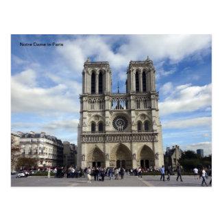 Notre Dame in Paris Postcard