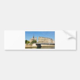 Notre Dame, Paris Bumper Sticker