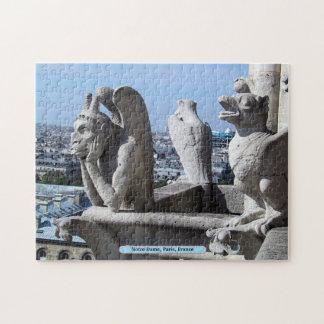 Notre Dame, Paris, France Jigsaw Puzzle
