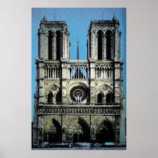Notre Dame Paris France Poster