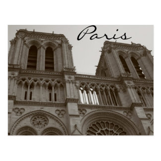 Notre Dame Paris Postcard