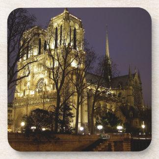 Notre Dame Paris Unique Image Drink Coasters