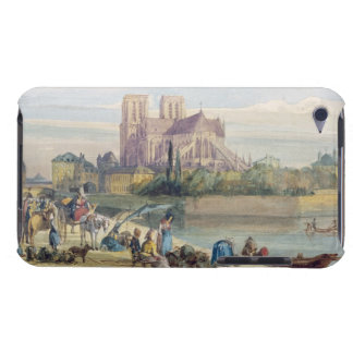 Notre Dame, Paris (w/c on paper) Barely There iPod Covers