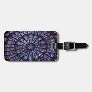 Notre Dame Rose Window Luggage Tag