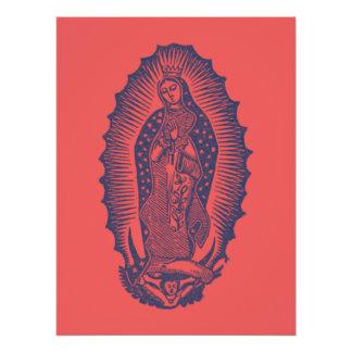 Notre Madame de Guadalupe Perfect Poster