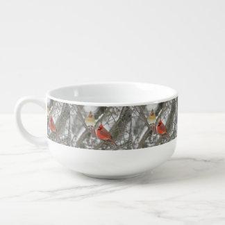 Notthern Cardinals Soup Mug