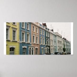 Notting Hill London Poster