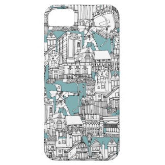 NOTTINGHAM BLUE COVER FOR iPhone 5/5S