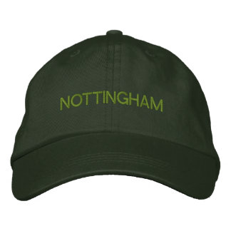 Nottingham Cap Embroidered Hat