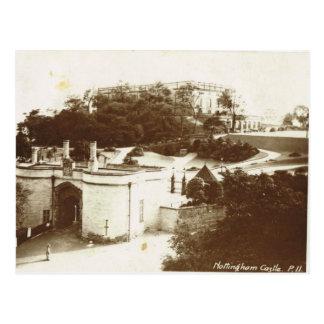Nottingham Castle, 1920 Postcard