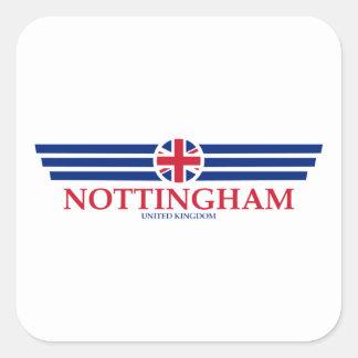 Nottingham Square Sticker