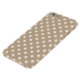 Nougat Polka Dot iPhone 6 Plus Case